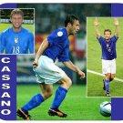 Antonio Cassano #2 (Italy) Mouse Pad