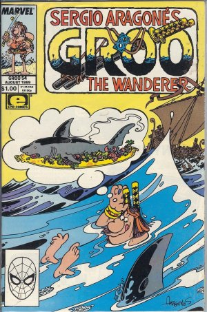 GROO The Wanderer  - Collection - 28 Copies