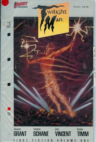 Twilight Man - First Publishing