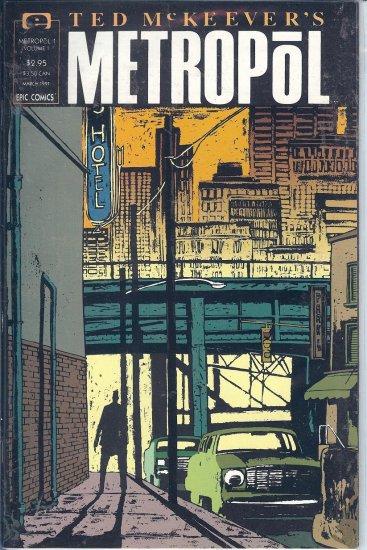 Metropol � By Ted McKeever � 3 Copies & Poster