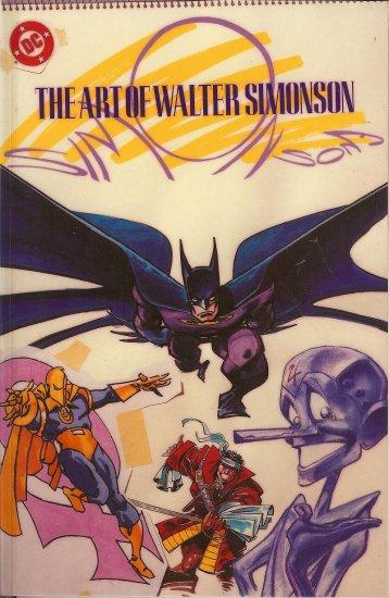 1988 The Art of Walter Simonson