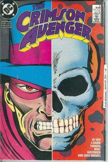 The Crimson Avenger - DC Comics 1988 - Parts 1 to 4