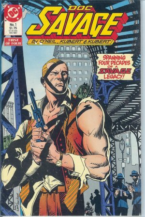 Doc Savage - DC Comics - 1988 - Parts 1 to 4