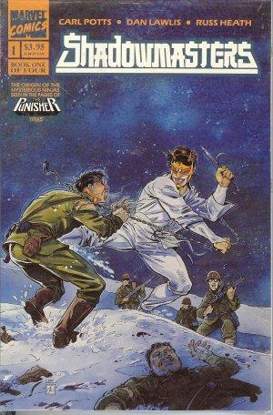 Shadow Masters - Marvel Comics - Books 1 to 4