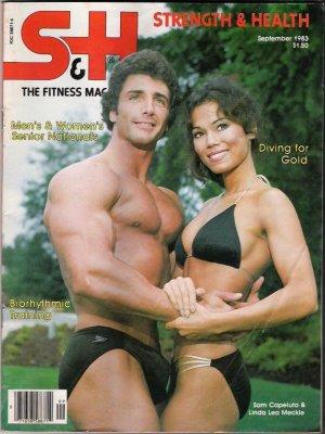 Strength & Health The Fitness Magazine September 1983-Biorythmic Training - Vintage
