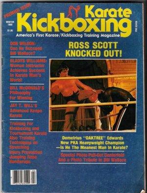 Karate Kickboxing Premier Issue- Ross Scott-Don Wilson-Gladys William-Martial Arts-Vintage