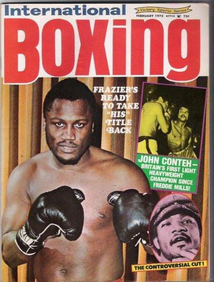 International Boxing- Victory Sports Series- February 1975- Vintage Magazine