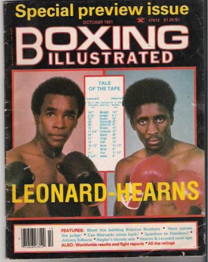 Boxing Illustrated- Special Preview- Leonard-Hearns