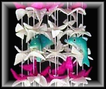 "Swimming Among The Shell Wind Chimes - 15"" Long - #236"