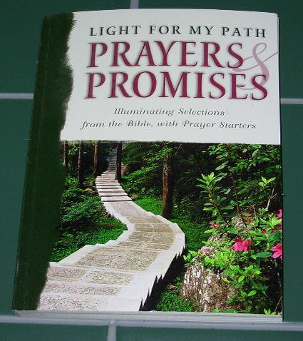 Paperback Book - Light For My Path - Prayers & Promises (2003)