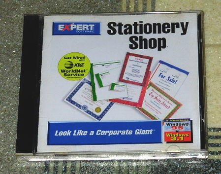 Computer Software - Stationery Shop