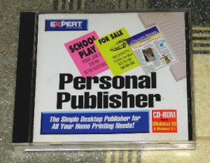 Computer Software - Personal Publisher
