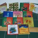 Christmas, Holiday Lot Of 12 Little Books