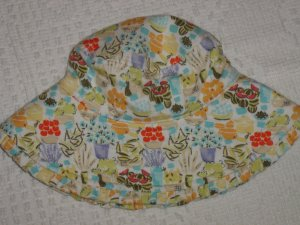 NWT GYMBOREE Bonjour Provence Summer Hat 0-6 mo*NEW!!