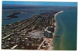 Chrome Airview of Clearwater Beach Mandalay Shores Apts Photo by Ted Lagerberg