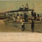 Antique 1904 Postcard Children on the Beach Asbury Park New Jersey post card