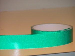 "Reflective Green Vinyl Tape(1"" x 20')"