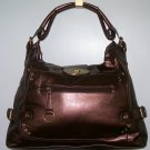 NWT DESIGNER INSPIRED BRONZE SHOULDER BAG