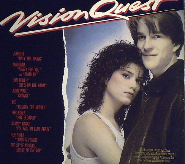 Vision Quest  Original SoundTrack..............1985
