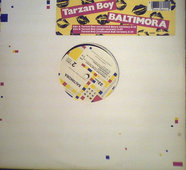 Baltimora	 Tarzan Boy........................1985