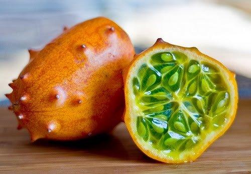 Tropical Kiwano Horned Melon Cucumis metuliferus - 20 Seeds