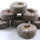 "Coconut Coir Fiber Pellets 1.65"" Inches - 10 Pellets"