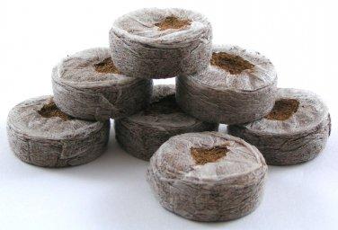 "Coconut Coir Fiber Pellets 1.65"" Inches - 10 Pellets"