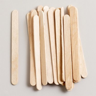 Small Blank Wooden Plant Marker - 30 Sticks