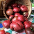 Organic Heirloom Tomato Cherokee Purple Lycopersicon lycopersium - 25 Seeds