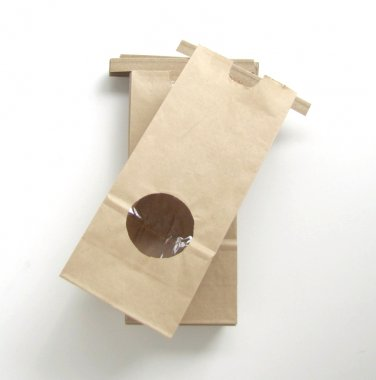 Kraft Paper Bags with Tin Tie Half Pound - 10 Bags