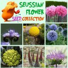 Whimsical Truffula Seuss Inspired Flower Seed Collection - 7 Varieties