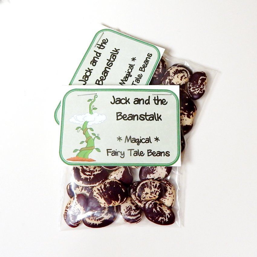 Jack and the Beanstalk Magical Bean Seed Favor - Set of 3