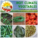 Hot Climate Southern Vegetables Seed Collection - 6 Varieties