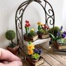 Fairy Garden Miniature Garden Arch Trellis Rustic