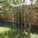 Beaded Branch Suncatcher with Gemstones and Glass Unique Gift