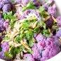 Purple Cauliflower Hybrid Brassica oleracea var. botrytis - 20 Seeds