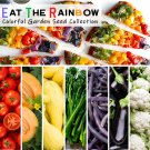 Eat a Rainbow Garden Seed Gift Collection - 7 Varieties
