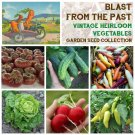 Heirlooms Blast From The Past Vegetable Seed Collection - 6 Varieties