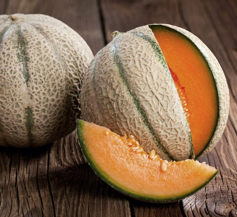 Heirloom Cantaloupe Hearts of Gold Melon Cucumis melo - 30 Seeds