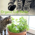Organic Cat Herb Seed Gift Box with filled Catnip Pillow Toy