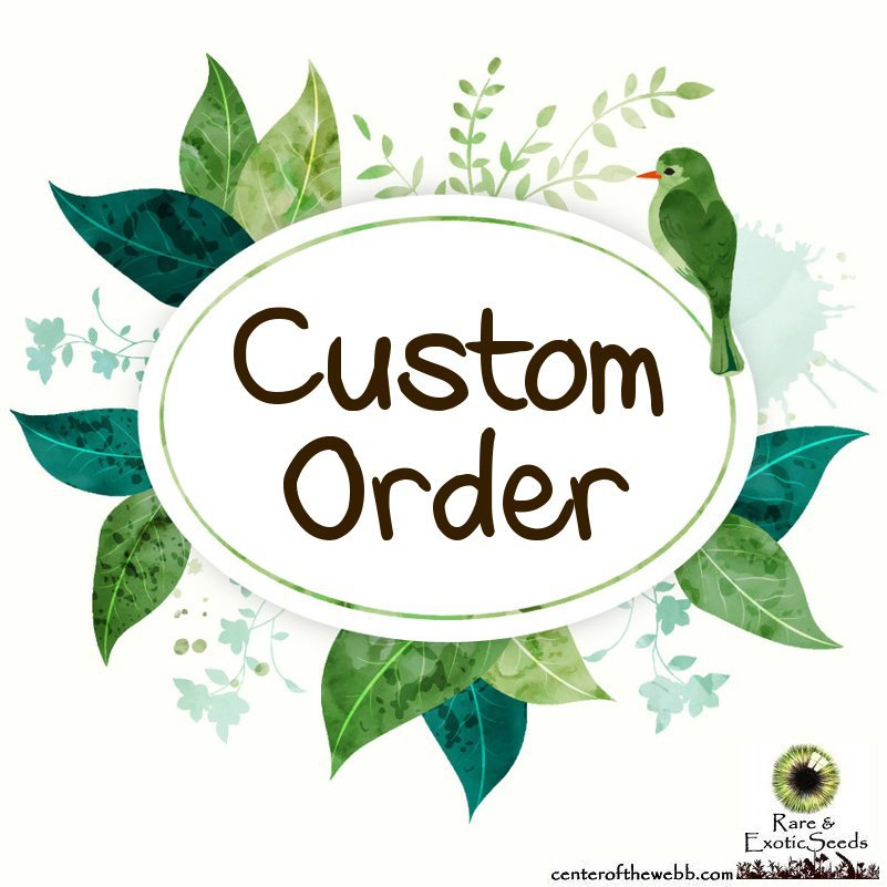 Reserved Order for JeanieW