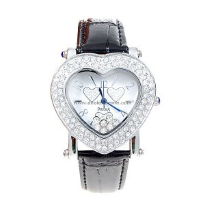 ON SALE: Crystal Encrusted Heart Watch