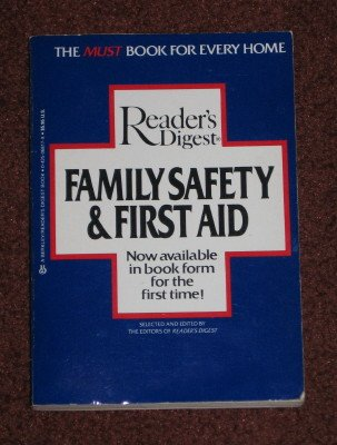 Readers Digest Family Safety and 1st Aid Reader's Digest Editors Paperback 1984 Medical Health Book