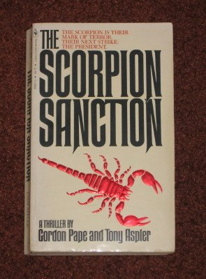 Scorpion Sanction by Gordon Pape Paperback 1981 Mystery Thriller Book