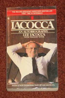 Iacocca An Autobiography by Lee A. Iacocca Paperback 1986 Book