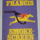 SMOKESCREEN by Dick Francis 1978 Mystery Thriller Paperback Book