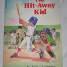 The Hit Away Kid by Matt Christopher A Scholastic Peach Street Mudders Series Paperback Book