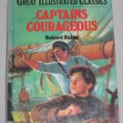 Captains Courageous Great Illustrated Classics by Rudyard Kipling Malvina G. Vogel (Hardcover, 1992)
