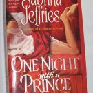 One Night With a Prince by Sabrina Jeffries The Royal Brotherhood Series (Paperback, 2005)