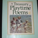TREASURY OF PLAYTIME POEMS Ideals Childrens Books (1990, Hardcover)